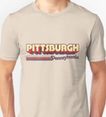 Pittsburgh, PA | City Stripes T-Shirt