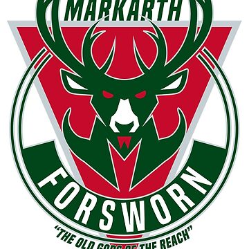 Markarth Forsworn Basketball Logo by botarthedsgnr