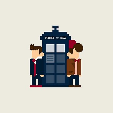 10th and 11th Doctors by BreakfastStudio