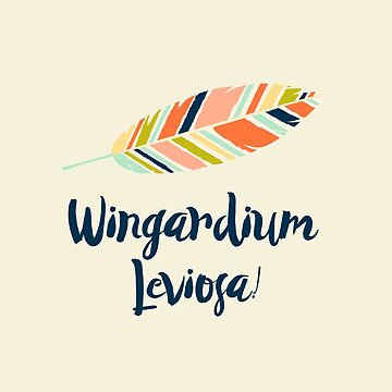 Wingardium leviosa! by literarylifeco