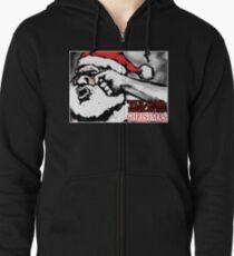 Vulgar Display of Christmas Zipped Hoodie