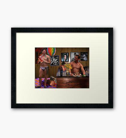 USDA Prime Framed Print