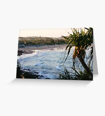 Dusk at Coolum Greeting Card
