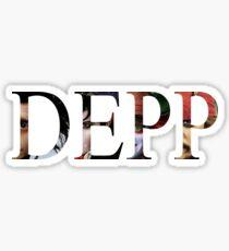 Depp - Sticker  Sticker