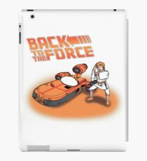 Back To The Force! iPad Case/Skin