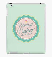 Procrasti-Baker iPad Case/Skin