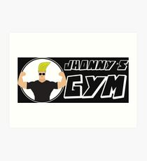 Jhonny & gym Art Print