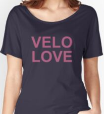Bike Velo Love Pink | Sports Women's Relaxed Fit T-Shirt