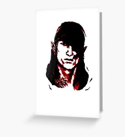 Che Iorveth - Viva la Scoia'tel! Greeting Card