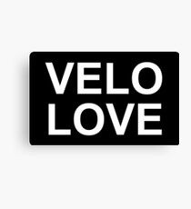 Bike Velo Love | Sports Canvas Print