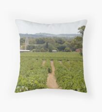 Barossa Valley Throw Pillow