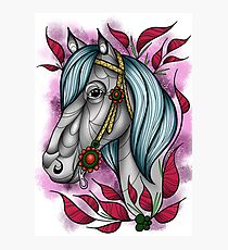 Neotraditional horse  Photographic Print