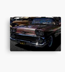 1956 Chevy; Historical Front Street Car Show; Norwalk, CA USA Canvas Print