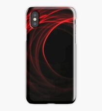 Red Ring iPhone Case/Skin
