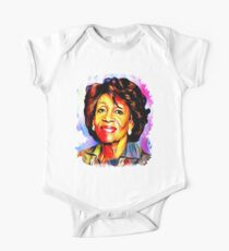 Maxine Waters is my Spirit Animal - colorful portrait One Piece - Short Sleeve