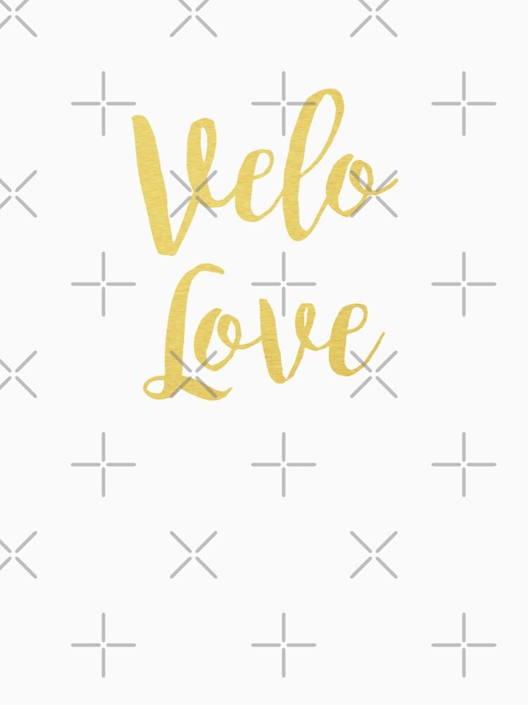 Bike Velo Love Gold | Sports by koovox