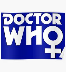 The Doctor is a Woman Poster