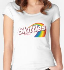 Skittles Women's Fitted Scoop T-Shirt