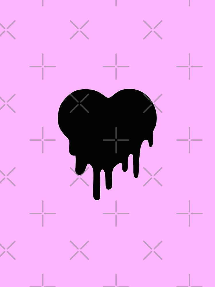 Corazón estilo pastel goth by CreepyAndKawaii