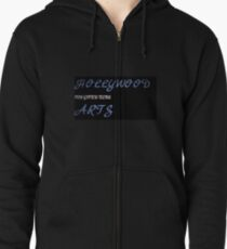 hollywood arts- victorious Zipped Hoodie