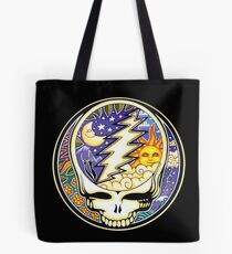grateful dead steal your face day night Tote Bag