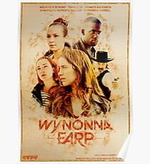 Wynonna Earp - Western Style Cast Poster Poster