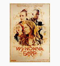 Wynonna Earp - Western Style Cast Poster Photographic Print
