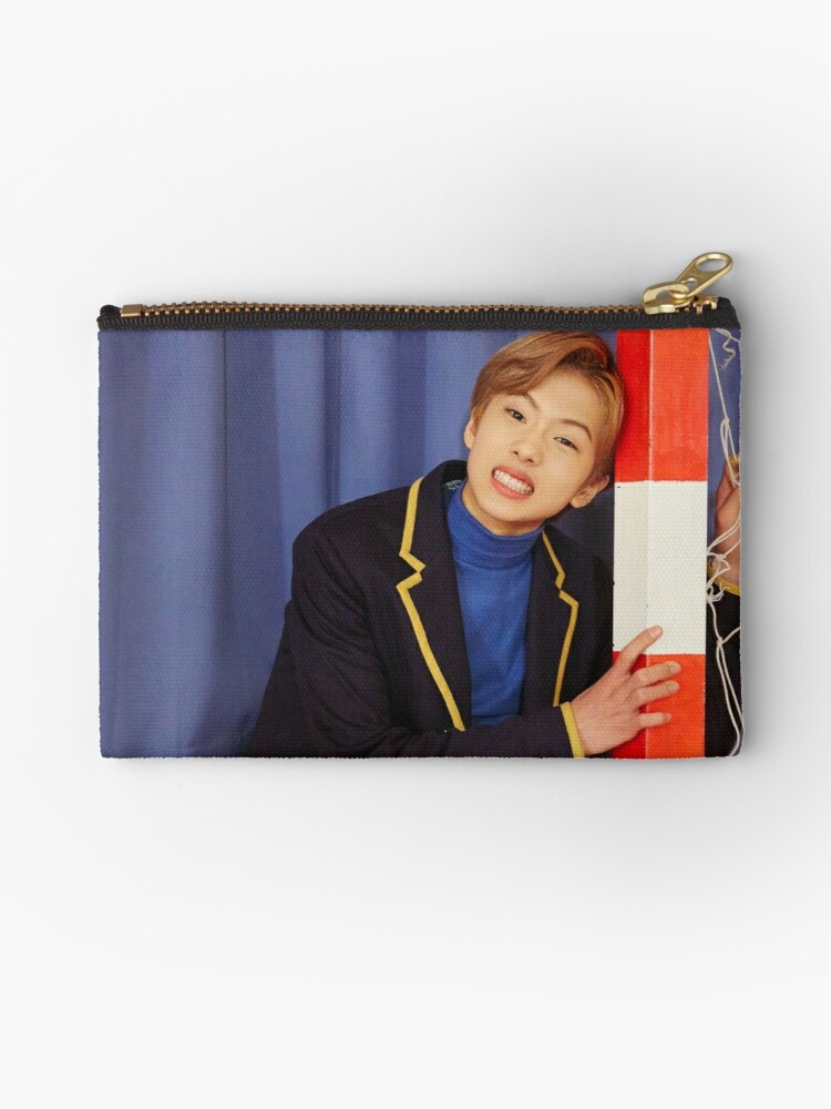 'NCT DREAM MY FIRST AND LAST JISUNG' Zipper Pouch by NCTEMPORIUM