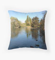 Botanic Gardens Adelaide Throw Pillow