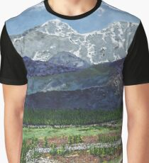 Sky Mountain Graphic T-Shirt