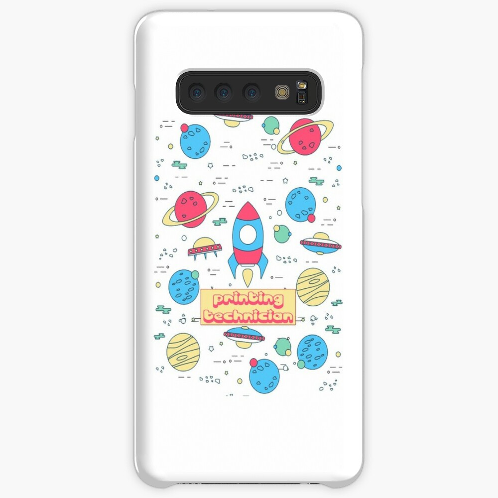 PRINTING TECHNICIAN Case & Skin for Samsung Galaxy