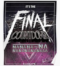 Final Countdown Poster