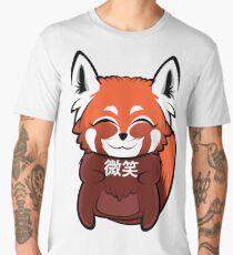 """""""微笑"""" (Smile) Red Panda Men's Premium T-Shirt"""