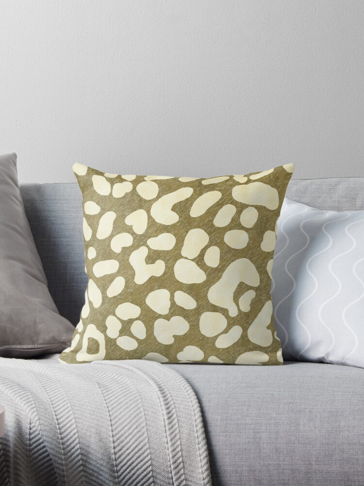 Leopard Beige Pattern by oursunnycdays