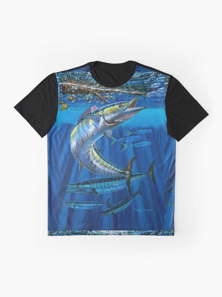 Alternative Ansicht von Wahoo Haven Grafik T-Shirt