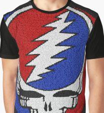 Grateful Dead Word Art Graphic T-Shirt
