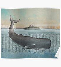 Whale (ocean monster) Poster