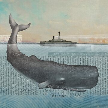 Whale (ocean monster) by Sparafuori