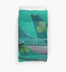 Aer Lingus tail Duvet Cover