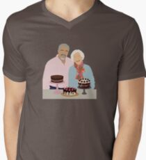 Great British Bake Off Men's V-Neck T-Shirt