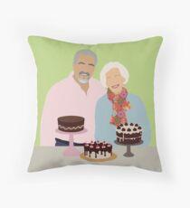 Great British Bake Off Throw Pillow