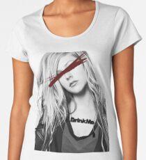 Dead Pop Stars Of Our Youth - Avril Lavigne Women's Premium T-Shirt