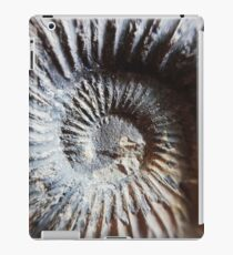Ammonite Spiral// Nature // Fossil // Photography iPad Case/Skin