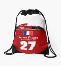 Alain Prost - Ferrari 643 Drawstring Bag