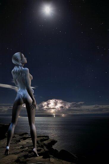 Moon Goddess - Rose & Geoff Coleman by Rose Moxon