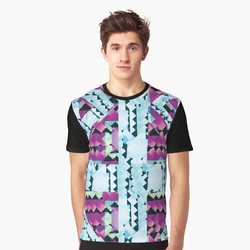Crystal Mystic Chips Graphic T-Shirt Front