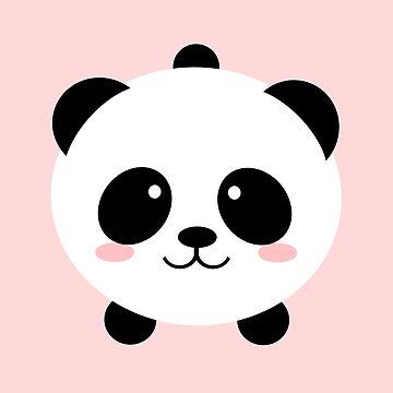 Precioso oso panda kawai de EuGeniaArt