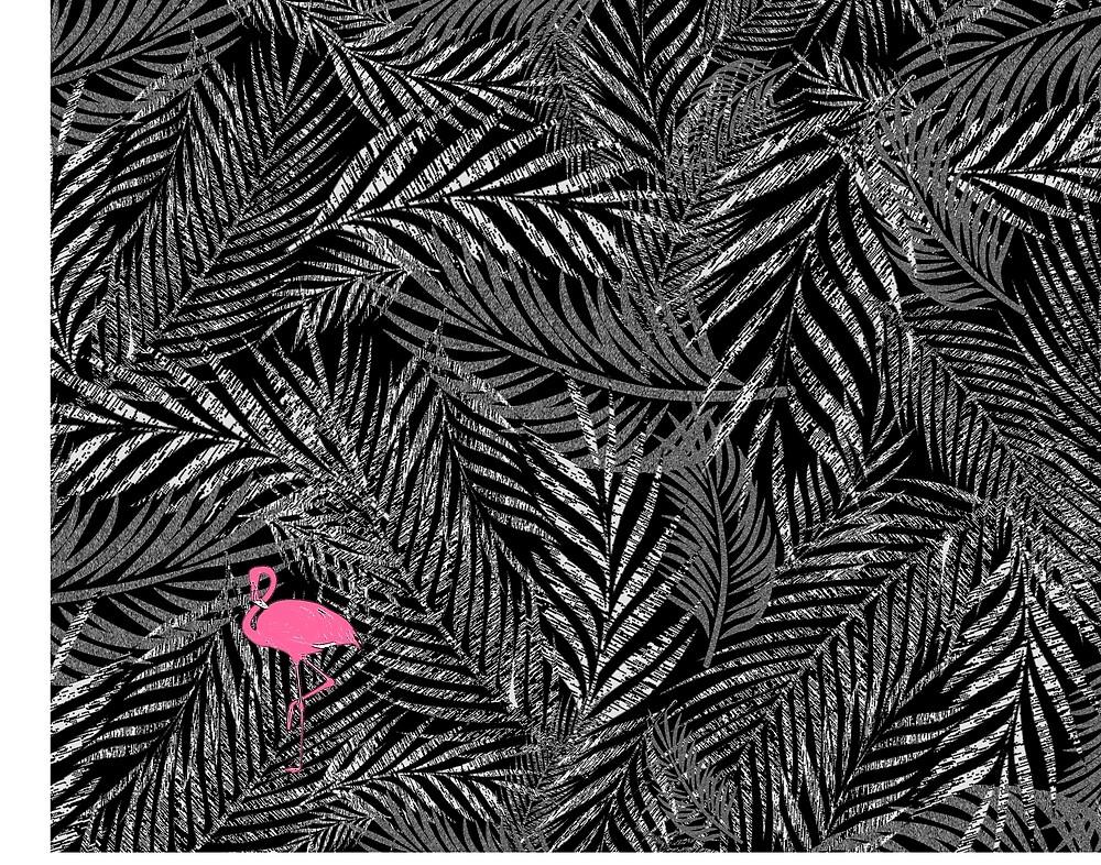 Peeky Palms by kmaydayart