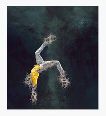 Breakdancer water splash Photographic Print