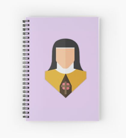 St. Therese of Lisieux Spiral Notebook